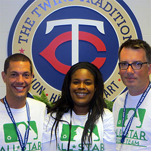 Drs. Tiffany Richardson, Steve Ross, and Mike Raycraft