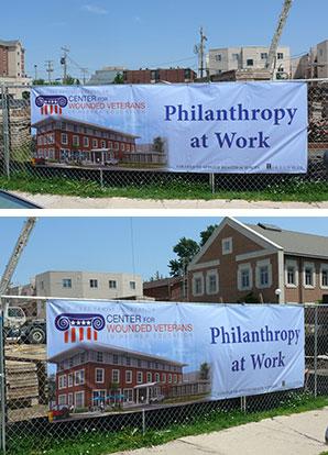banner reading Philanthropy at Work